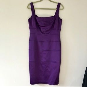JAX purple cocktail dress, size 12